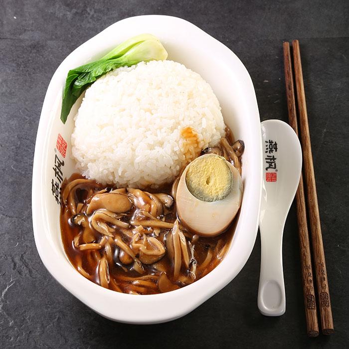 什锦蘑菇饭